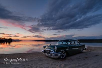 Buick i solnedgang HDR :-)