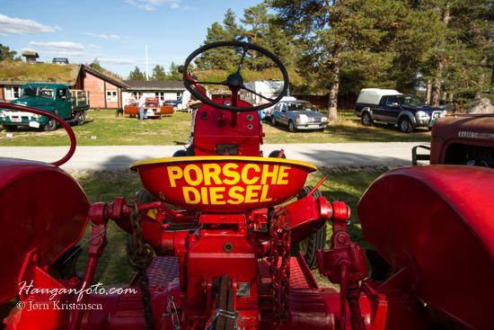 Treffets eneste Porsche. Vi får se når jeg kommer i 50-års krisa om det ikke blir en til...