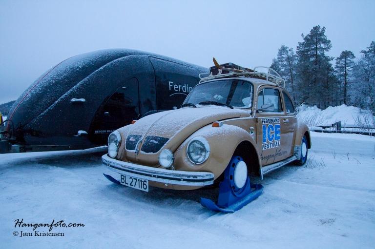 Litt berømt, men ikke helt Herbie enda ;-)