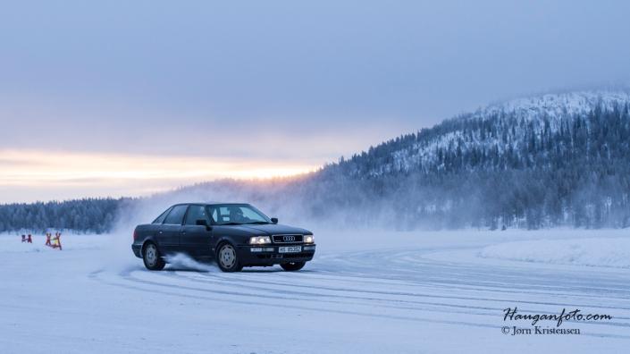 Audi i fint driv.