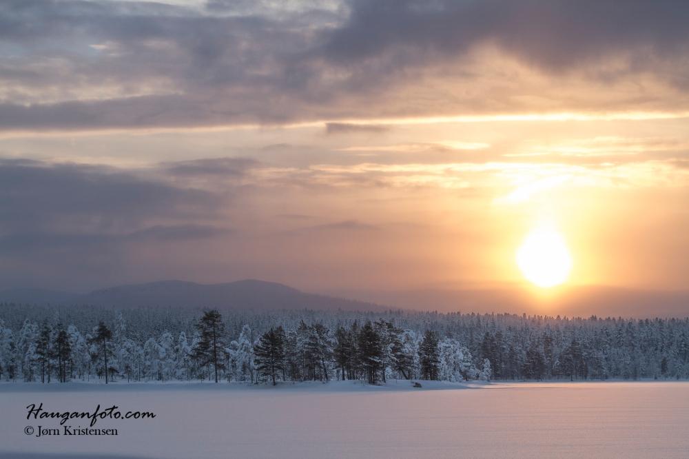 Solnedgang over vurruhavet :-)