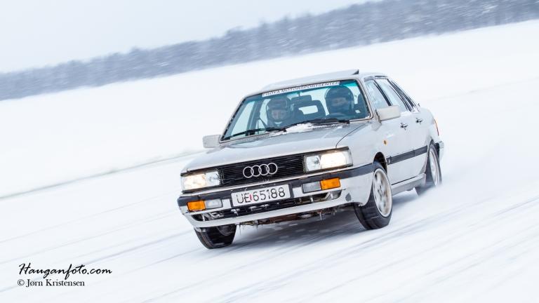 Mye pene sladder får man til, også i litt eldre Audi.