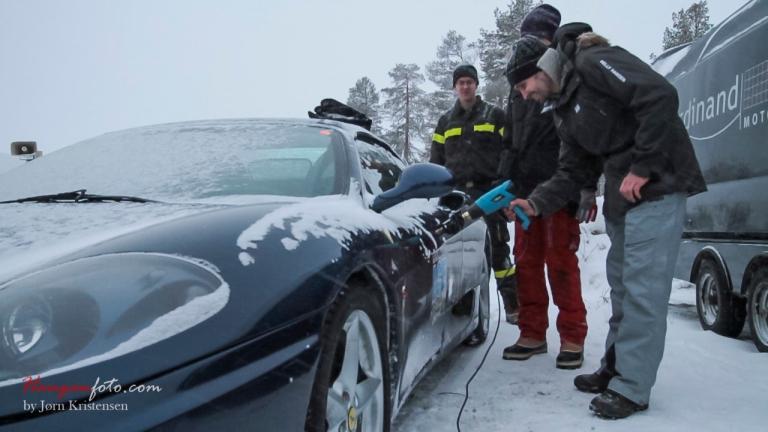 Tining av Ferrari :-)