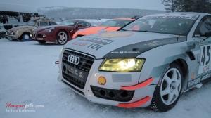 Per Støldals Audi i godt selskap ;-)