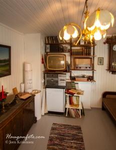 Mye gamle ting og stilfulle rom på gården. Her har de vært flinke til å ta vare på ting! :-)