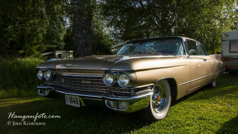 Cadillac 1960. Stort større blir det ikke :-)