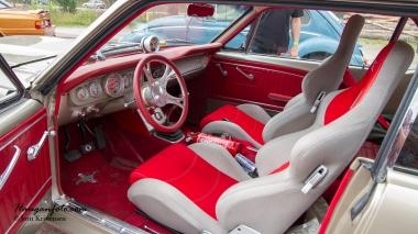 Interiøret på Mustangen over.