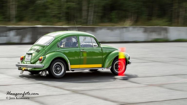 Grønt er skjønt, også med gul stripe på!