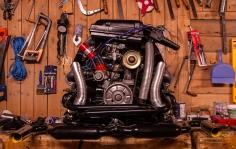VW 1600 dobbelport.
