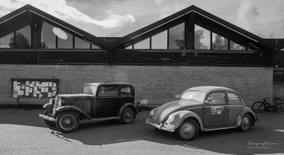 Fjellrally. Opel og Oval