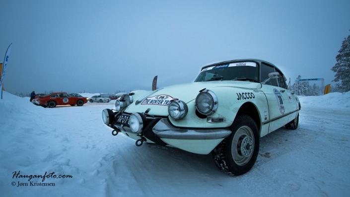 Virkelig pent rallystuk på denne bilen!