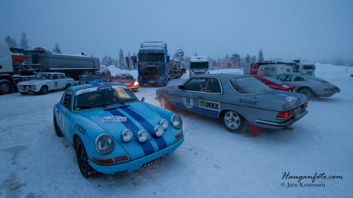 Det var mye fin Porsche å se. En favoritt hos fotografen! Her ser vi en 911 fra 1965 1991ccm, eier Hank Melse (NL).