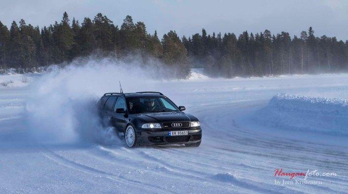Thomas Skaalas utrolig fine RS4 i fint driv som alltid.