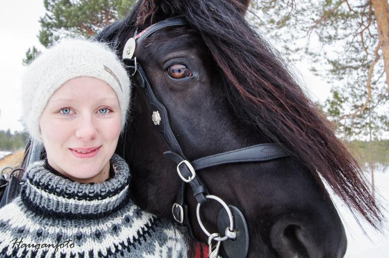 Kristin og kompisen.