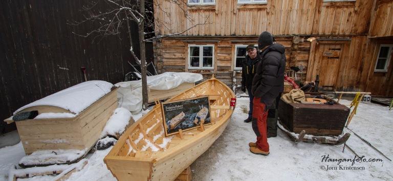 Joten var på plass med Femundbåten. Skikkelig fint håndtverk! (Håper du fikk solgt'n!)