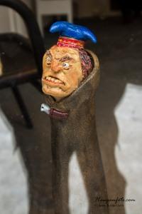 Sinna same, laget av skulptøren i butikken Espens Verden.