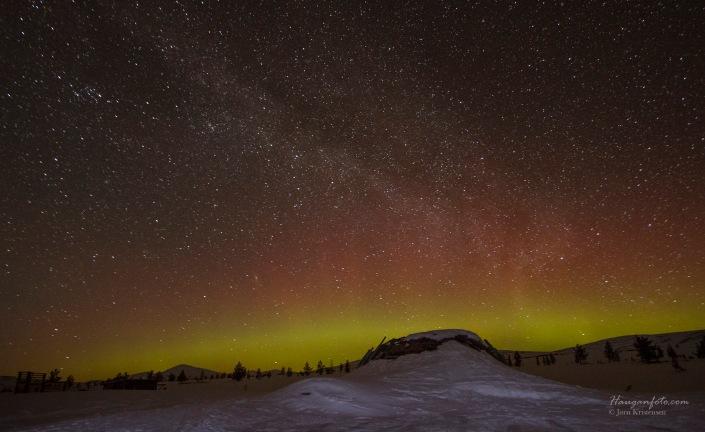 Samegamma under stjernehimmel