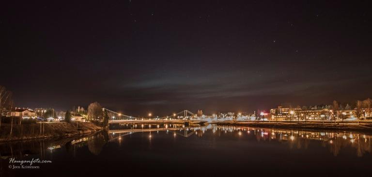 Elverum by night.