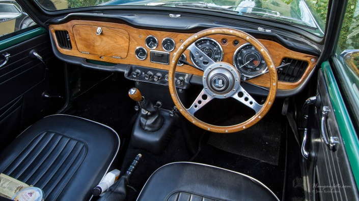 Triumph interior