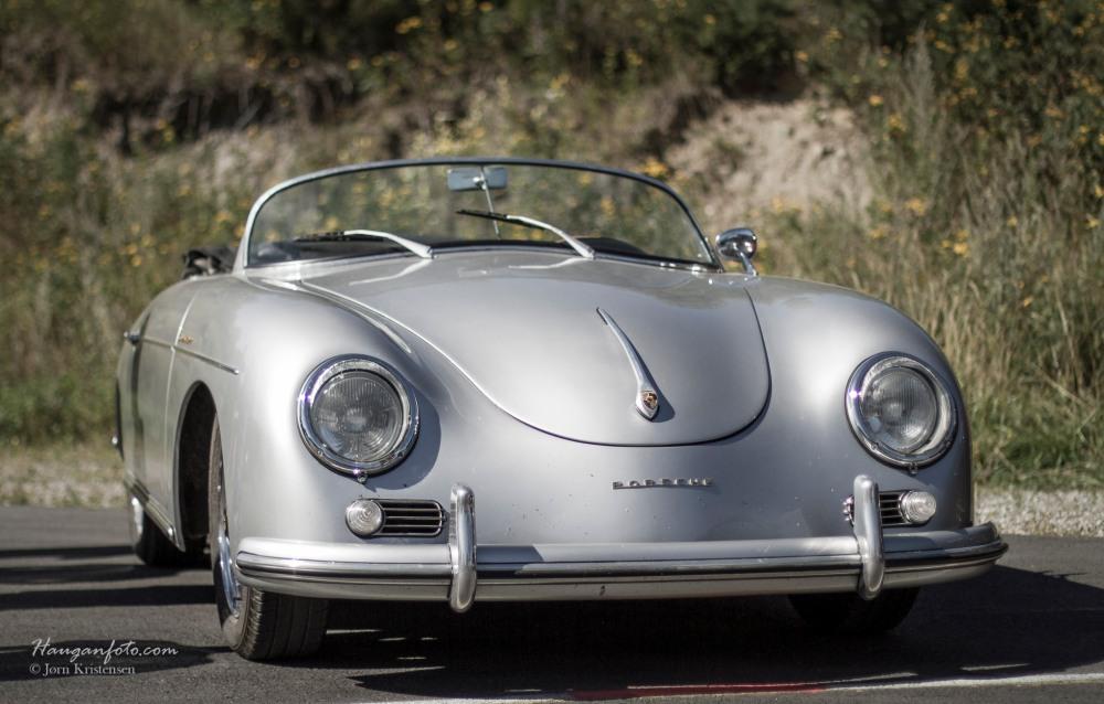 Porscheportrett i to deler