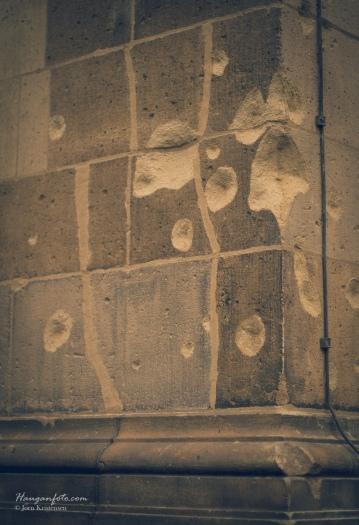 Kulehull i Kaiser-Wilhelm-Gedächtniskirche