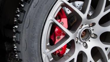 Ishjula på Corvette'n.