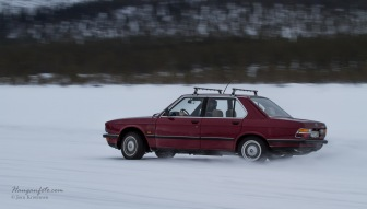 God gammal BMW i fint driv.