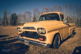 Herlig gul pickup