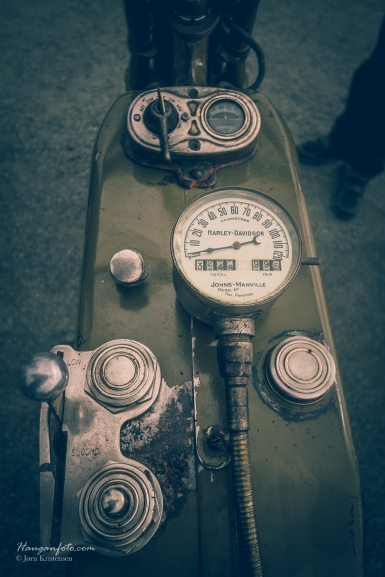 Harley Davidson fra riktig gamle dager. Dagens favorittfoto.