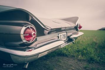 Pen hekk, Buick.