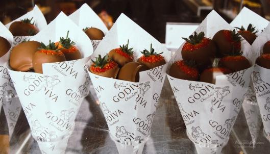 Jordbær og sjokolade.