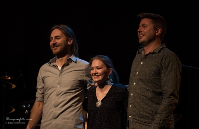 Tre store musikere.