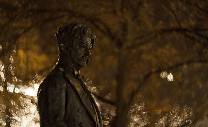Johan Halvorsen, komponist. En av to favorittbilder fra kvelden.