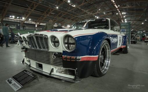 Jaguar XJ banebil. Steike.