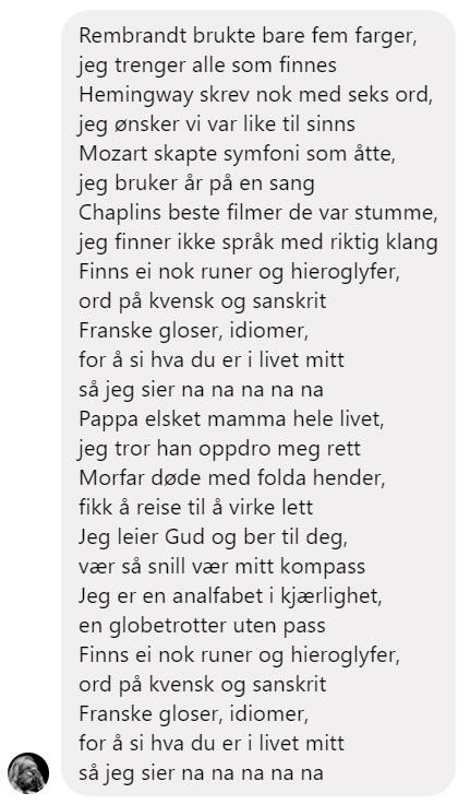 Sitat Levi Henriksen